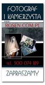 Fotografia Ślubna Rosen Studio - kontakt