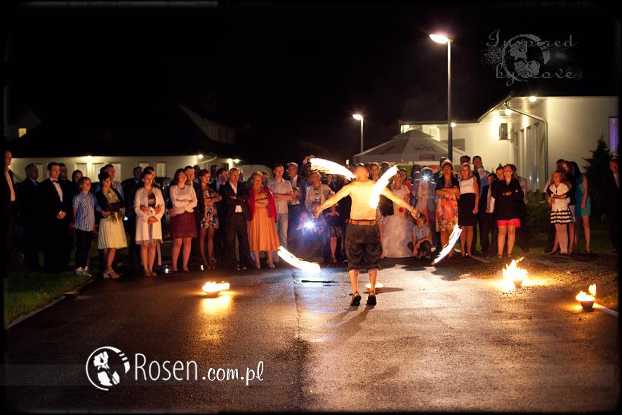Kasia i Adam, Pokaz Ognia
